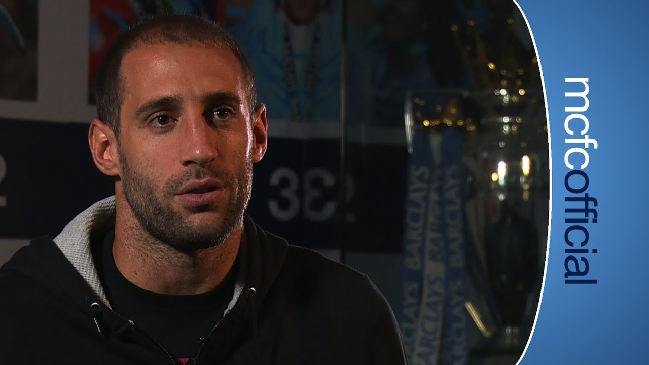 ZABALETA SIGNS Fan favourite Pablo Zabaleta signs a new contract