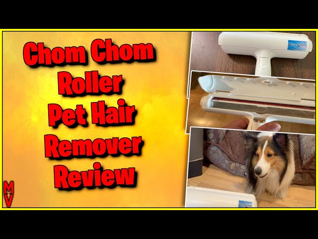 Chom Chom Roller || Pet Hair Remover || Review with Demo MumblesVideos