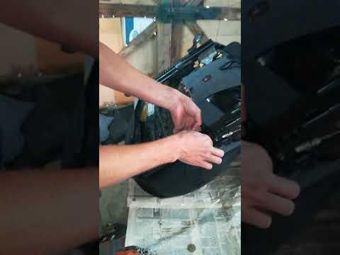 Замена чехлов на хендай акцент(как поменять чехлы на Hyundai akcent)