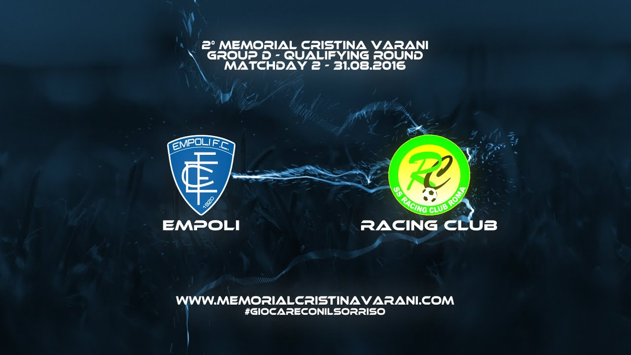 Empoli Fc Racing Club Roma 3 1 Memorial Cristina Varani Youtube