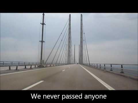 Malmo, Sweden to Copenhagen, Denmark Across The Öresund Bridge