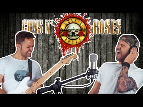 Guns N' Roses – Sweet Child O' Mine – Val Watts (feat Stefanos Stergiou)