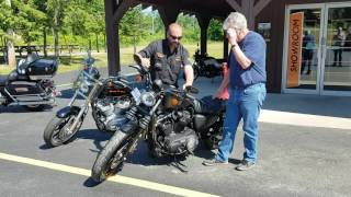 Surprising Dad With A New Harley