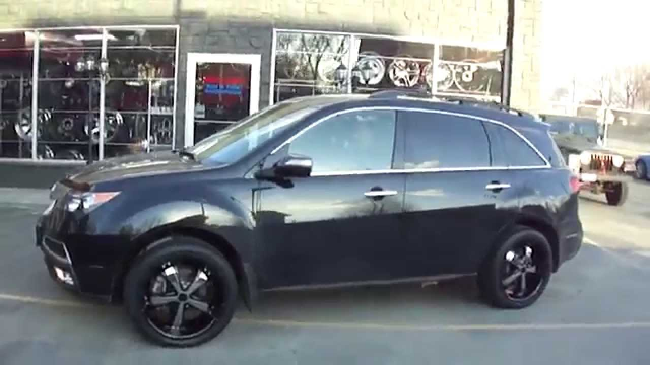 Hillyard Custom Rim Amp Tire 2013 Acura Mdx Riding On 20