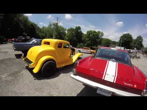 Back to the 50's Car Show New Castle PA 2016. Part 1.