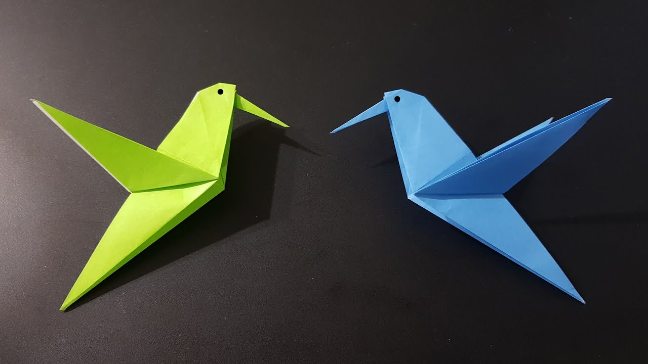 Simple Origami Birds For Kids - creative jewish mom | 720x1280