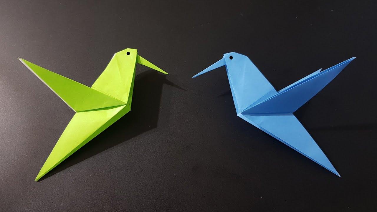 Origami Crane - How to Make the origami Crane - Slow Tutorial ... | 720x1280