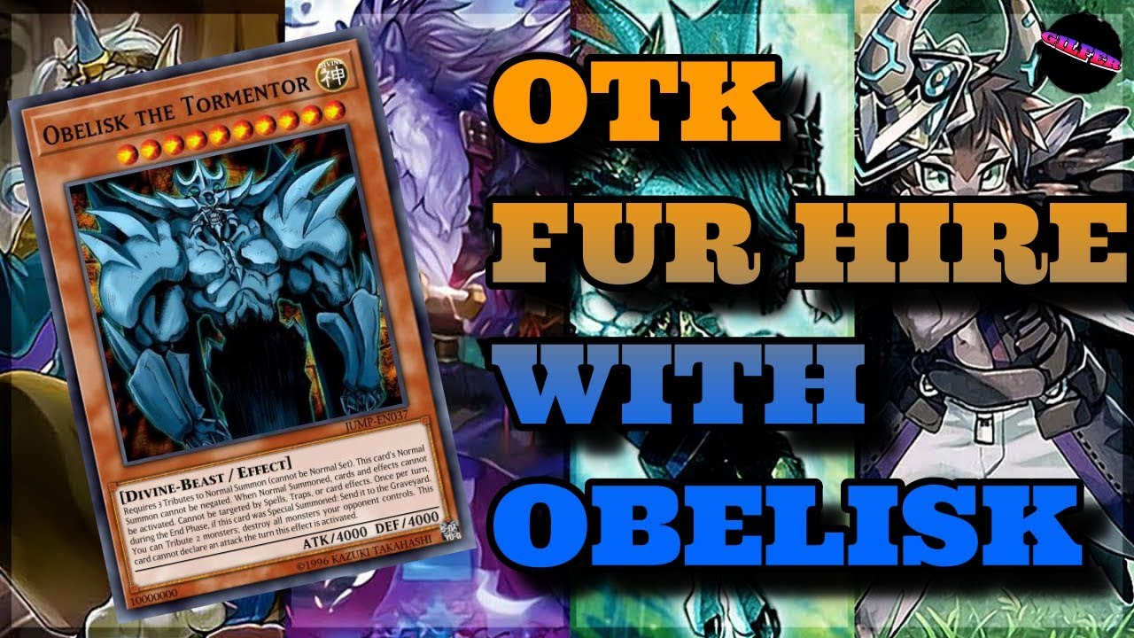 ONE OF THE QUICKEST OTK DECK !! Fur Hire + Obelisk !! Yugioh Duel Links -  Duel with Gilfer