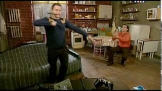 "Кузя танцует лезгинку.""Универ"""