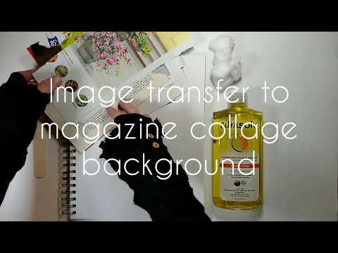 magazine-collage-background-and-image-transfer