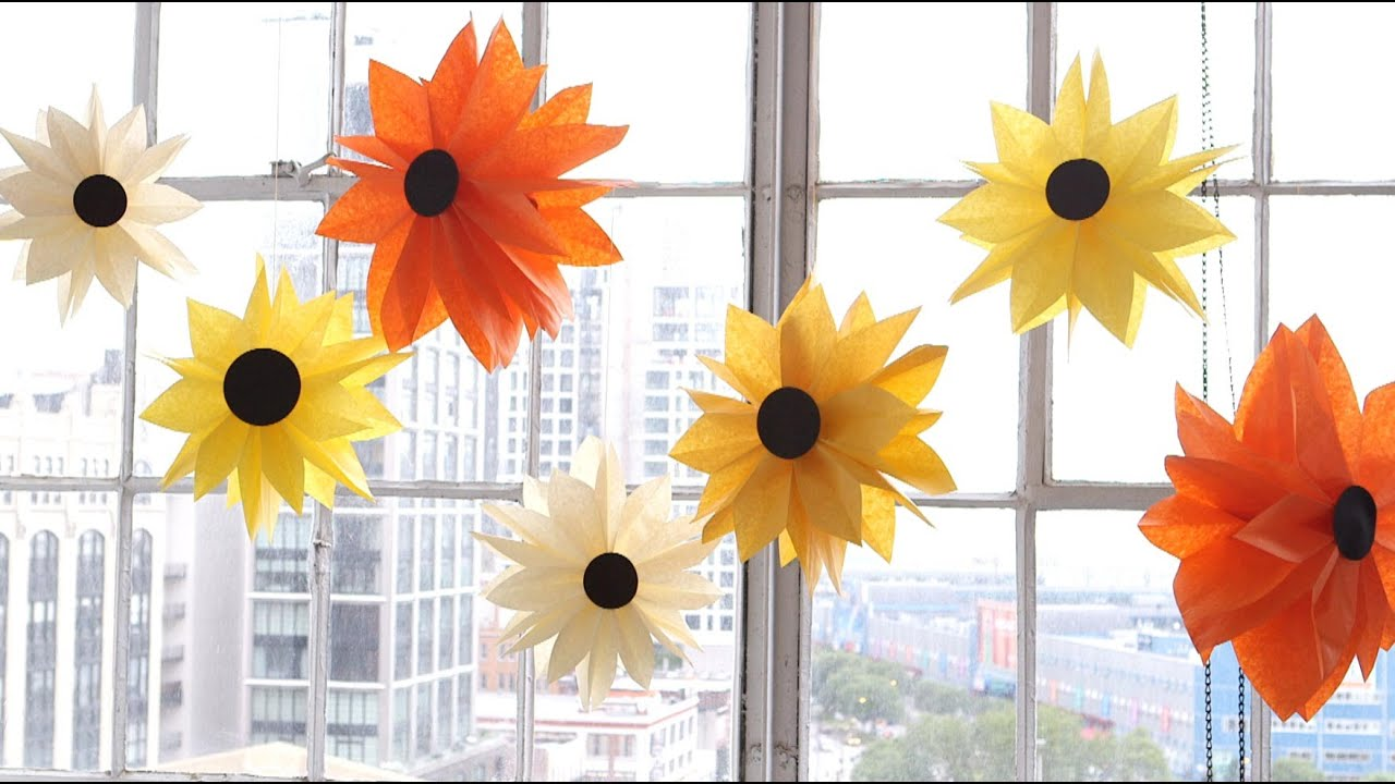 Diy paper bag flowers youtube diy paper bag flowers martha stewart mightylinksfo