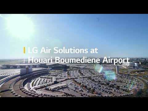 LG HVAC VRF Multi V Case Study Control Tower Solution for Algiers Airport in Algeria (Short Version)