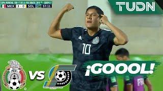 ¡Uno más al marcador! | México 4 - 0 Islas Salomón | Mundial Brasil Sub 17 - G-F | TUDN