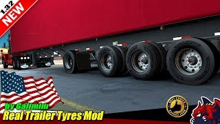 """[""""American Truck Simulator"""", """"tuning mod"""", """"Real Trailer Tyres Mod"""", """"by Galimim""""]"""