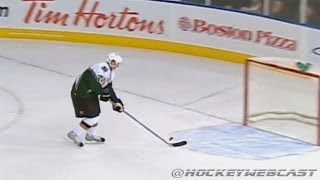 Patrik Stefan Misses Empty Net - 2007 - Full Sequence (HQ Dual-Feed)