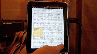 Review: Onsong Handling Sheet Music On An Ipad