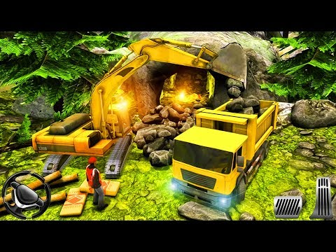 Gold Digger Heavy Excavator Crane Mining Games - Drive Construction Vehicles | Android Gameplay