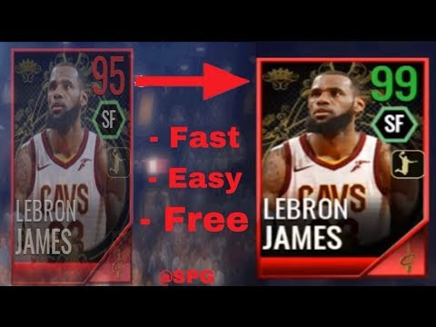 NBA Live Mobile 18: How To Get 95 Royalty LeBron James Fast!