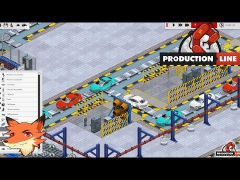 Production Line #1/2 - On construit notre ligne automatisée de fabrication de véhicule! [FR/2K]