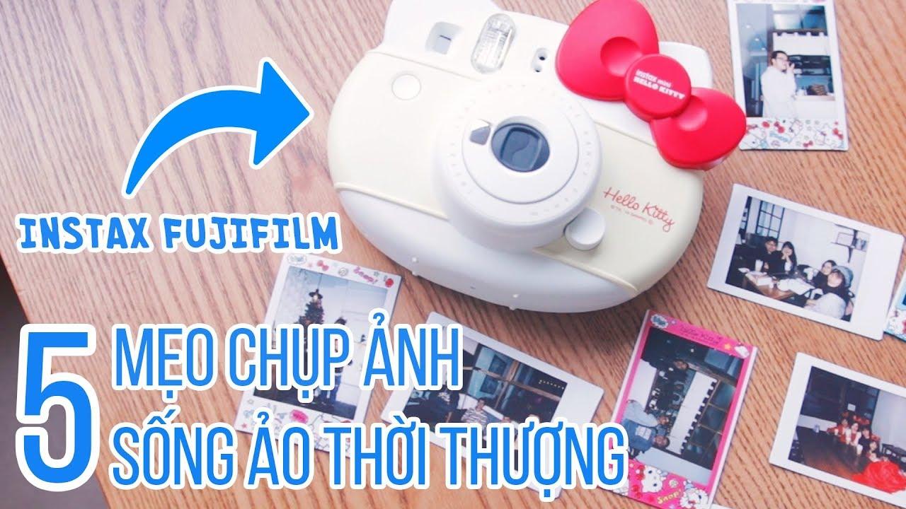 Hướng dẫn dùng máy ảnh chụp in luôn đúng cách: Instax Fujifilm