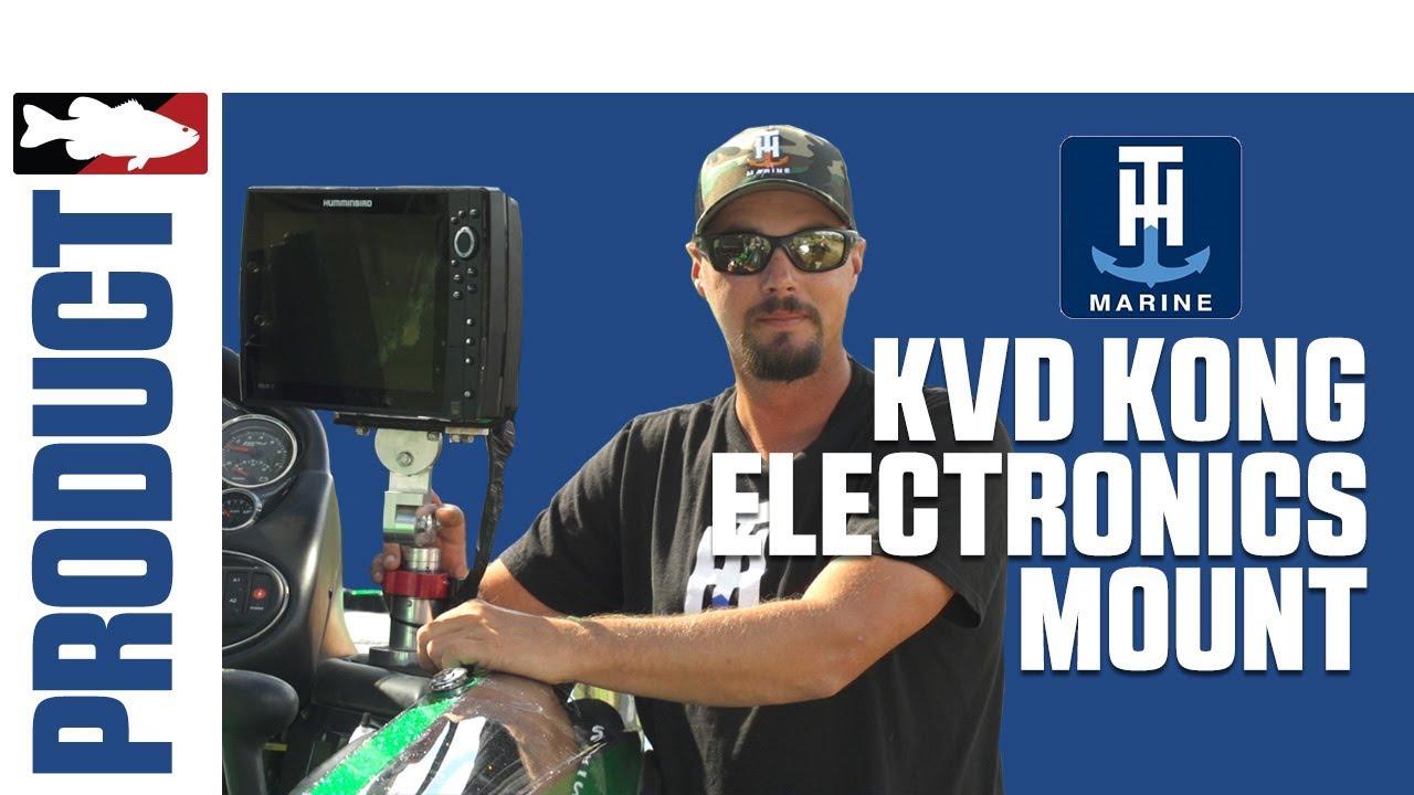 Alex Davis Talks about the T-H Marine KVD Kong Electronics Mount