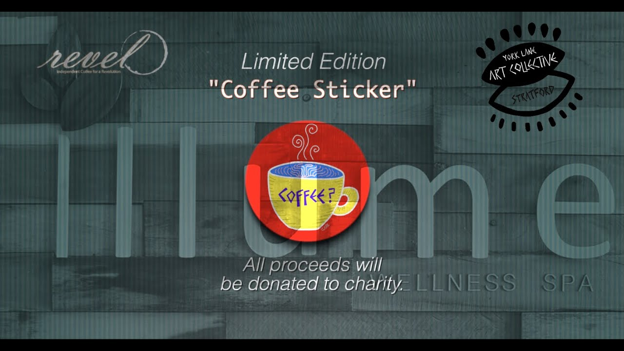 "Coffee? | Limited edition ""Coffee Sticker"" commercial 