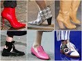 Latest Shoe Trends for Fall 2018 \ Winter 2019 - Women's Fashion