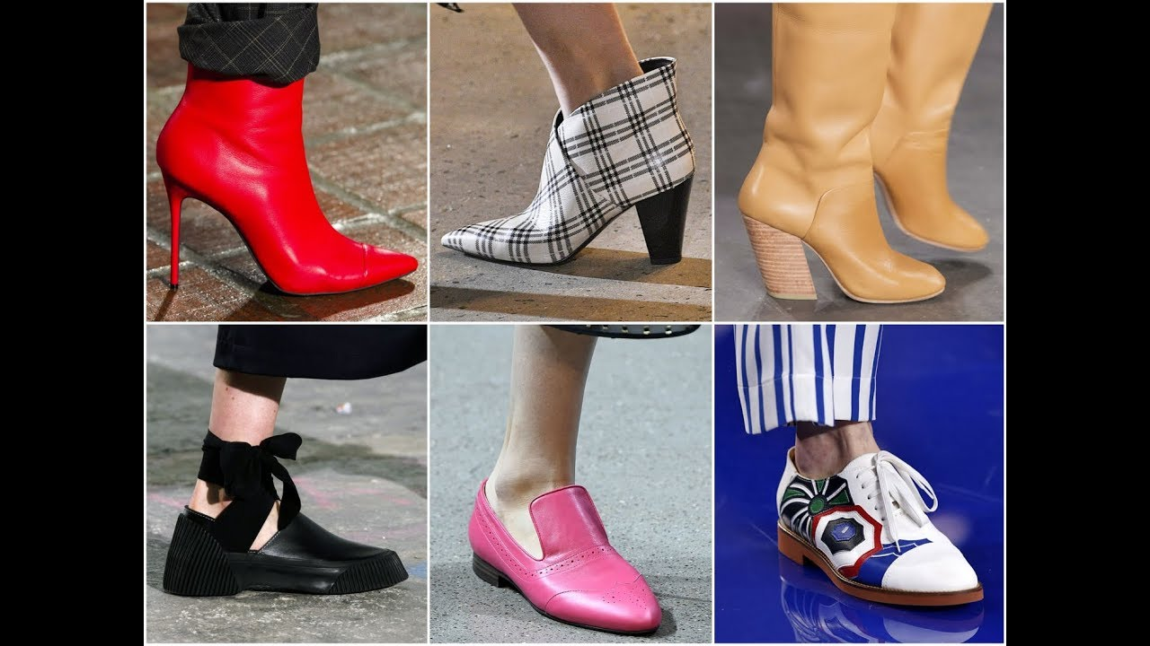 Latest Shoe Trends For Fall 2018 Winter 2019 Women S Fashion