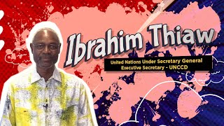 Ibrahim Thiaw - United Nations Assistant Secretary General, Head of UNCCD, speaks on My Earth Songs