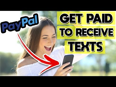 How To Earn PayPal Money On Your Phone - Just Receive Texts!