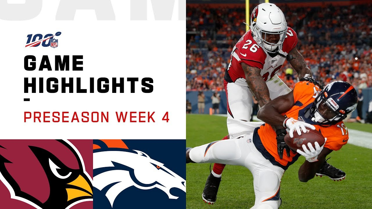 4 Things To Watch For During Broncos V. Cardinals Game