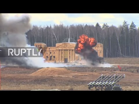 Russia: 'Reichstag stormed' as Battle of Berlin re-enacted near Moscow