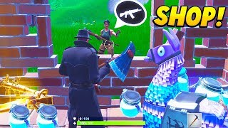 I Created a FORTNITE SHOP and sold LOOT to Players.. (Fortnite Battle Royale)
