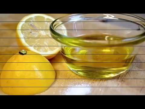 Squeeze 1 lemon, mix it with 1 tbs  of olive oil and you'll use this mixture to the rest of