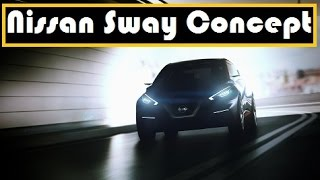 Nissan Sway Concept, will unveil at the 2015 Geneva Motor Show