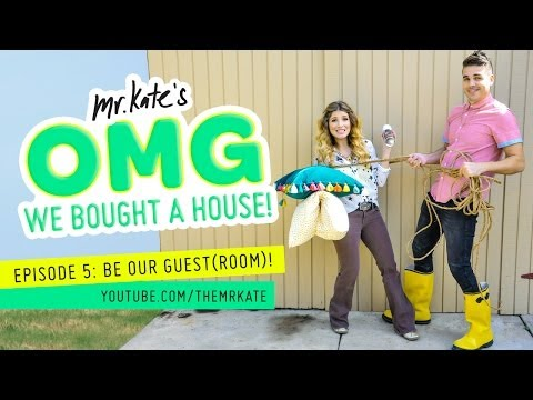 OMG We Bought A House! Episode 5: Be Our Guest(Room)!