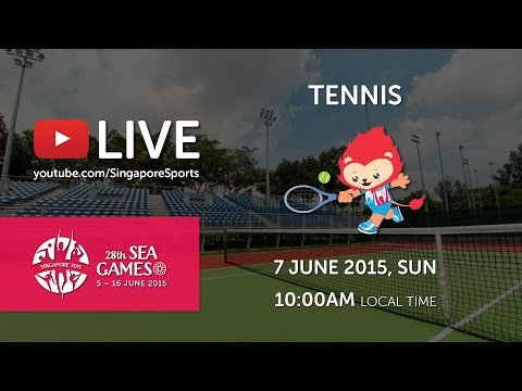 Tennis Men's Team Match QuarterFinals (Day 2) | 28th SEA Games Singapore 2015