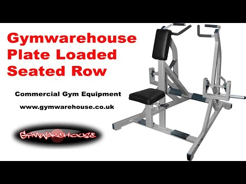 Plate Loaded Iso Lateral Seated Row