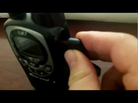 How to send Text Messages using Two way Radios (walkie Talkies)