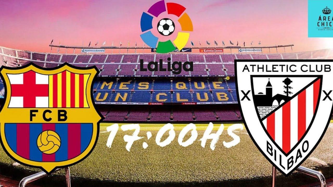 BARCELONA VS ATHLETIC CLUB | LA LIGA 2020 | TRANSMISIÓN ...