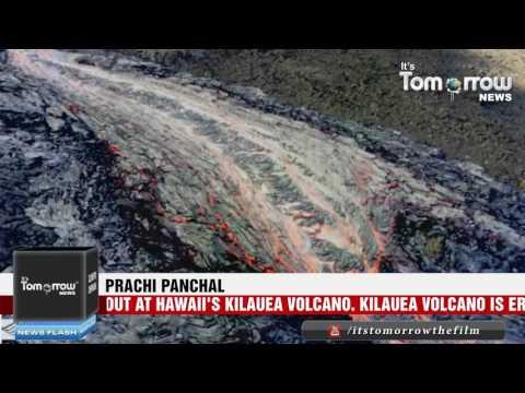 Hawaii Volcano Eruption New Lava Flows