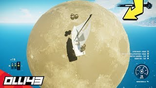 I sailed to the moon!! (Just Cause 4)