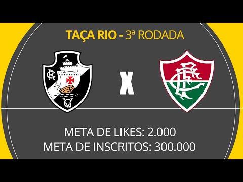 VASCO X FLUMINENSE - AO VIVO COM LUIZ PENIDO - TAÇA RIO - 3ª RODADA - 150320
