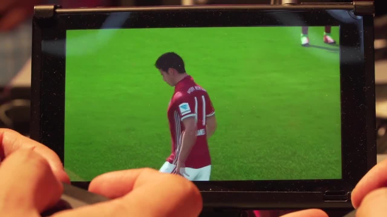 FIFA 18 on Switch Is Surprisingly Good But Not with Split Joy-Con – Gamescom 2017
