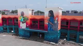 Asian Paints & St+art India Present Donate A Wall - Kerala | Kochi Promo