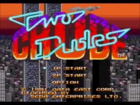 [Test N°40] Two Crudes Dudes (MegaDrive)