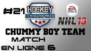 NHL 13 Quebec Commentary - HUT Match en ligne et Gab radotte
