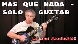 Mas Que Nada, Jorge Ben, Sergio Mendes, Brasil 66, fingerstyle guitar arrangement, Jake Reichbart
