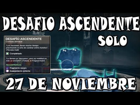Ubicación Desafió Ascendente l 27 de Noviembre l Destiny 2 Los Renegados thumbnail