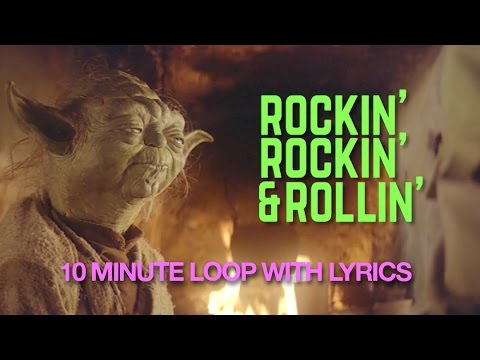 'THE EMPIRE STRIKES BACK A Bad Lip Reading' Rockin' and Rollin' 9:55 minute loop